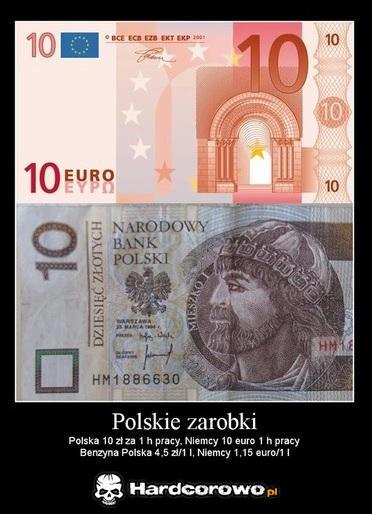 Polskie zarobki - 1
