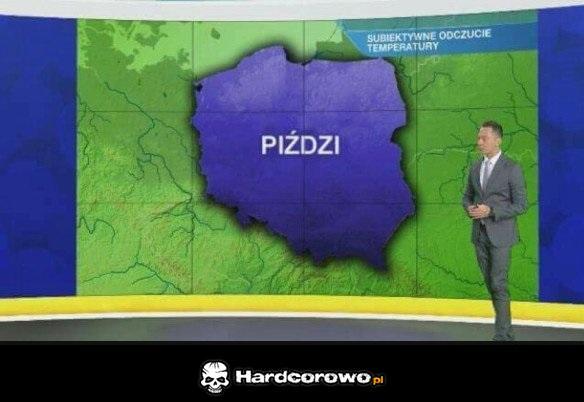 Prognoza pogody - 1