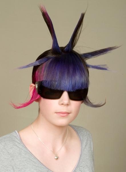 Hardcorowe fryzury - 5