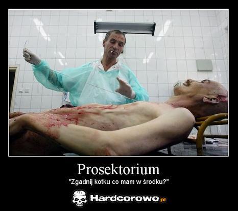 Prosektorium - 1