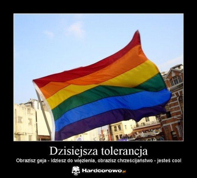 Dzisiejsza tolerancja - 1