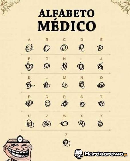Alfabeto Medico - 1