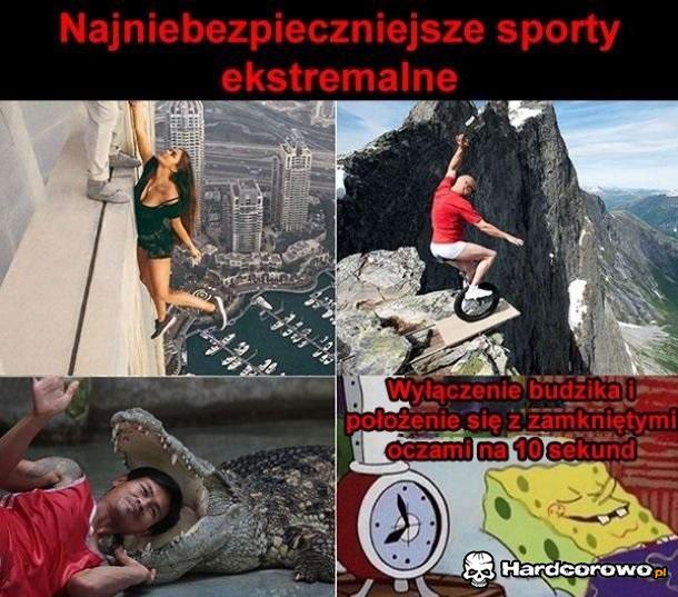 Ekstremalne sporty - 1