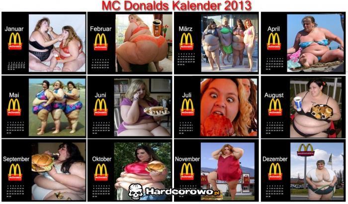 Kalendarz McDonald - 1