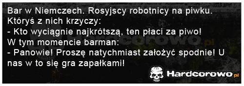 Rosyjscy robotnicy w barze - 1
