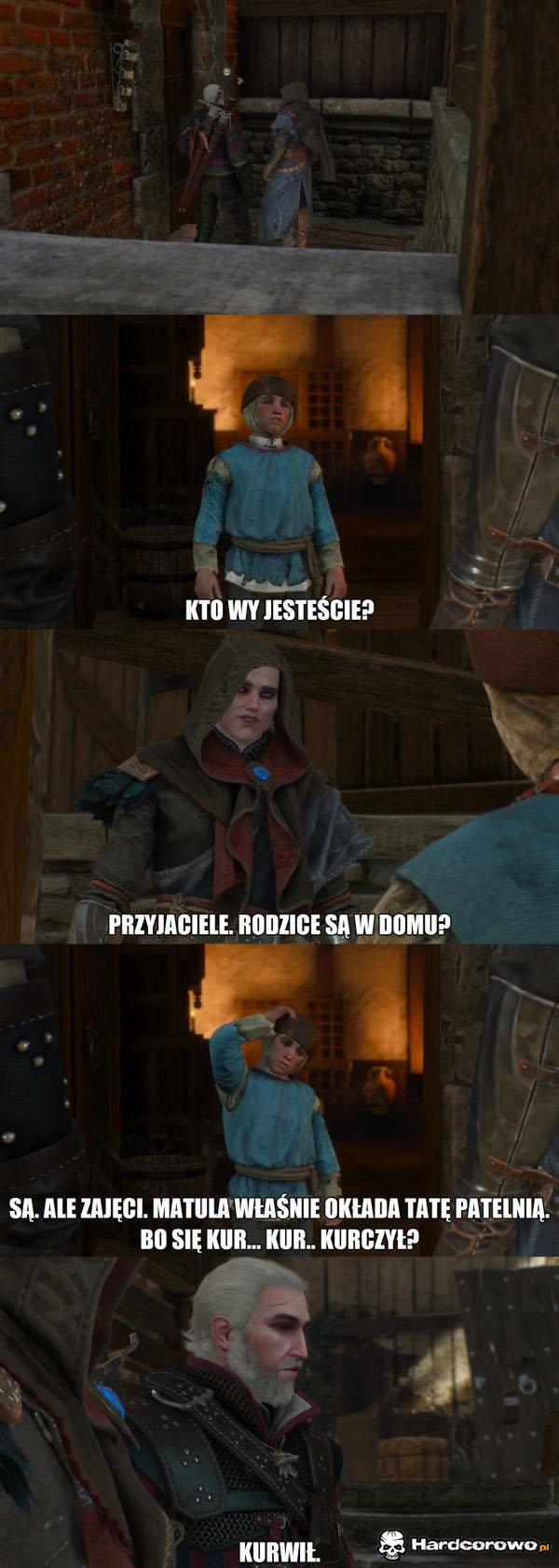 Geralt - Zabija, chędoży i uczy - 1
