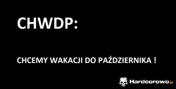 Chwdp - 1