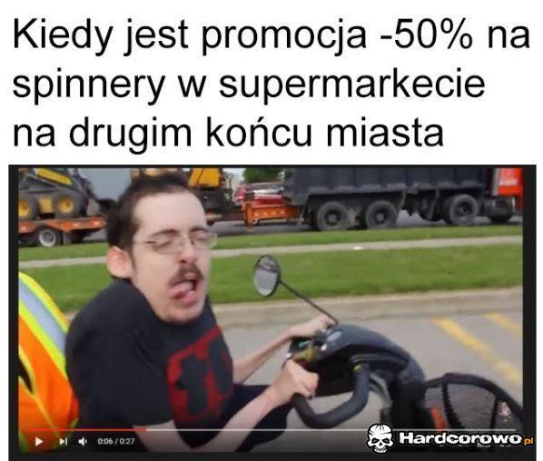 Promocja na spinery - 1