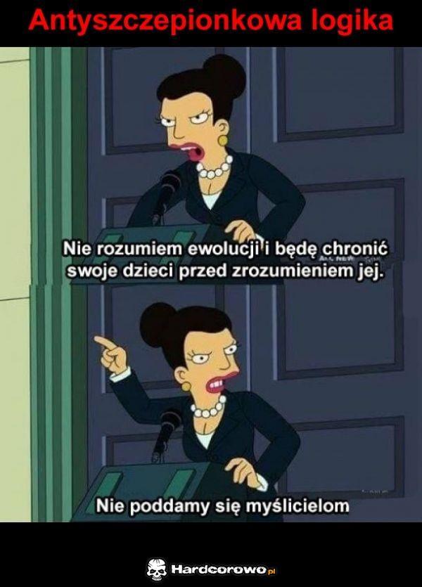 Antyszczepionkowa logika - 1