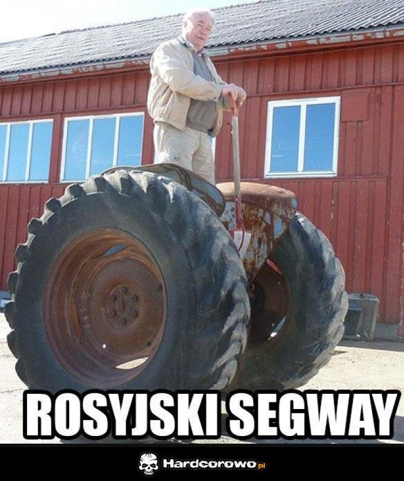 Rosyjski Segway - 1