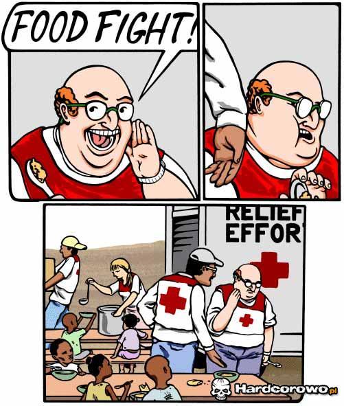 Food fight - 1