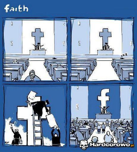 Kościół św.Facebooka - 1