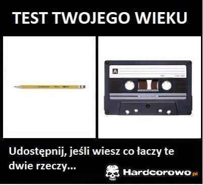 Test twojego wieku - 1