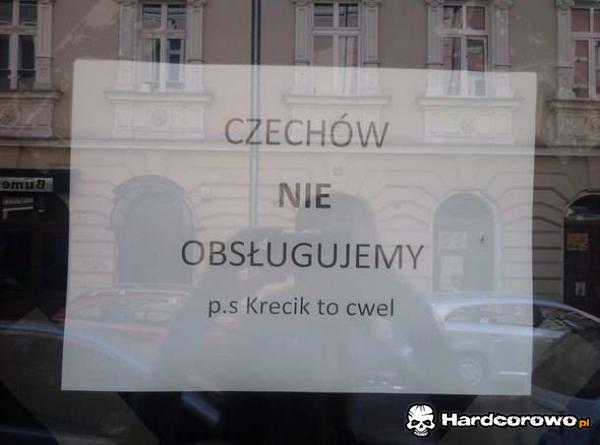 Czechów nie obsługujemy - 1