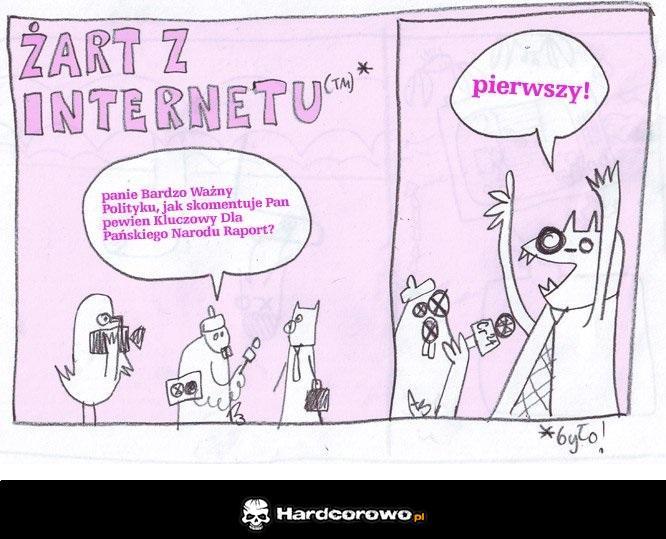 Żart z Internetu - 1