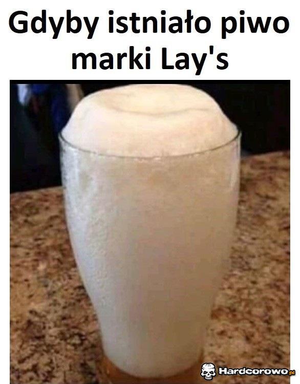 Gdyby istniało piwo marki Lay's - 1