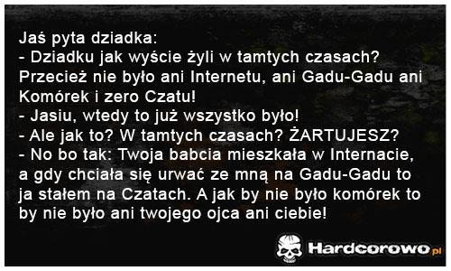 Jaś pyta dziadka - 1
