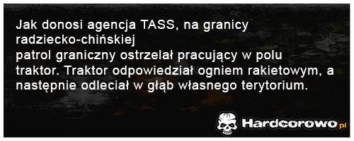 Jak donosi agencja TASS - 1