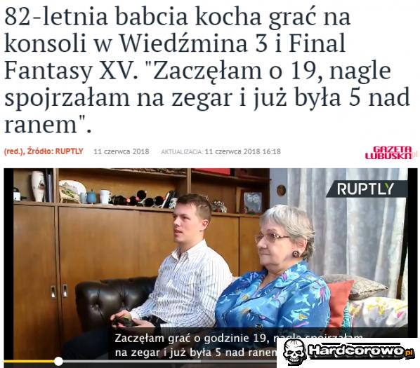 Babcia się wciągła - 1