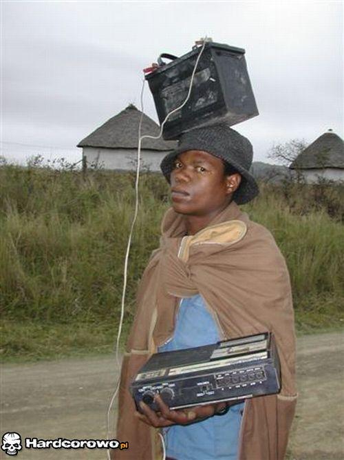 Afrykański MP3-Player - 1