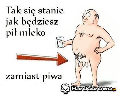Mleko zamiast piwa - 1