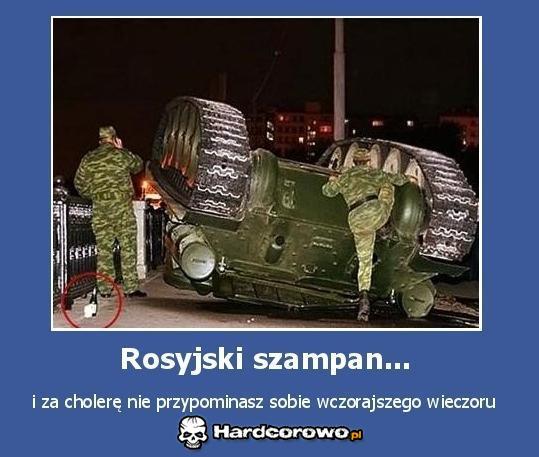 Rosyjski szampan - 1
