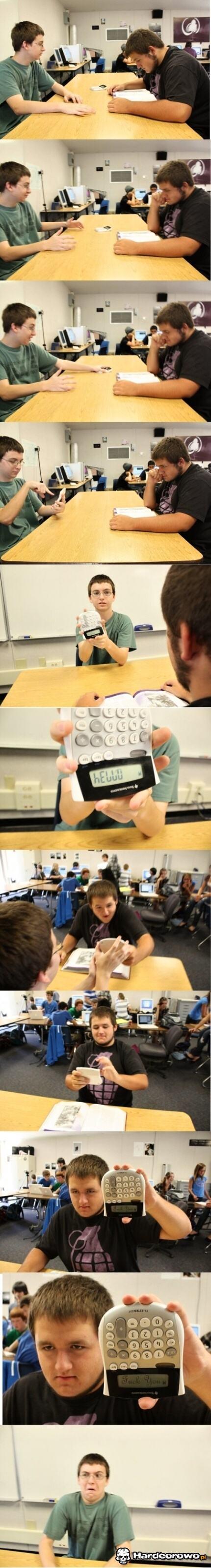 Na kalkulatorze - 1