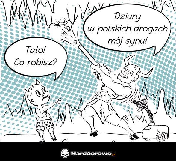 Komiks o dziurach w drogach - 1