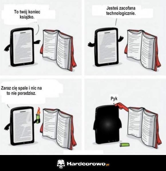 Książka a smartfon - 1