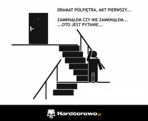 Dramat półpiętra - 1