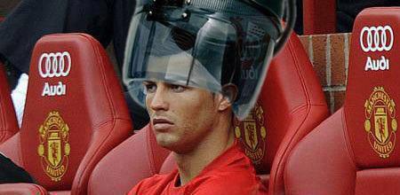 Cristiano Ronaldo rozgrzewa się przed dzisiejszym meczem - 1