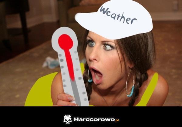 Temperatury na dworze - 1