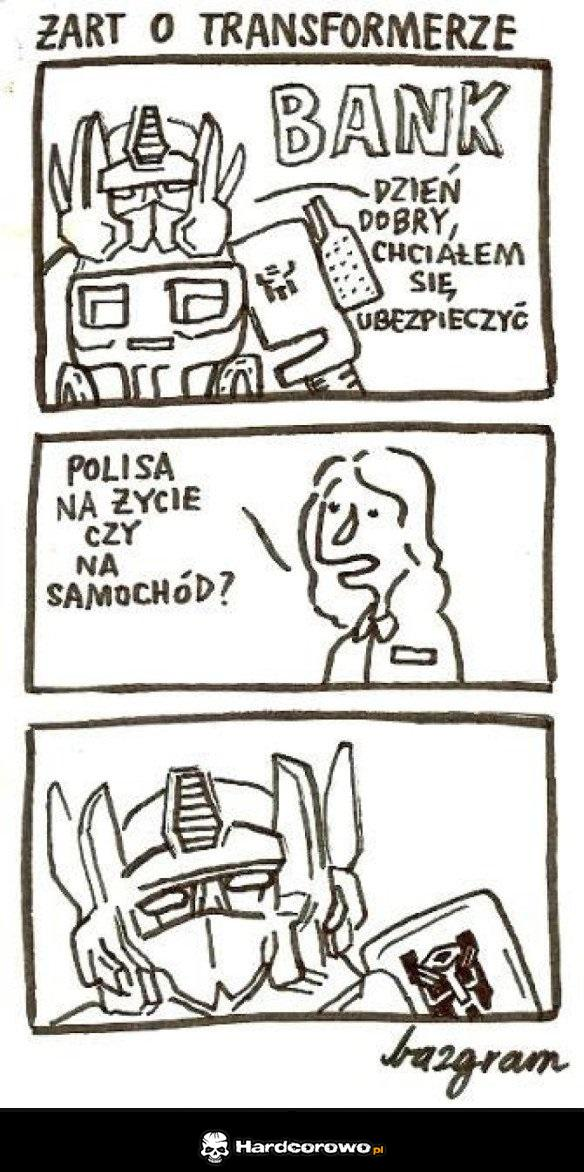Problemy transformersów - 1