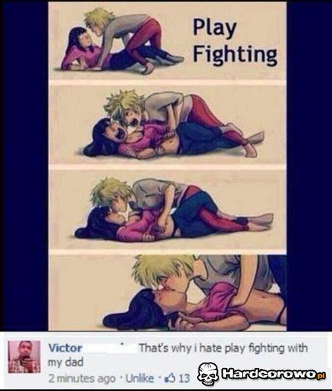 Play fighting - 1