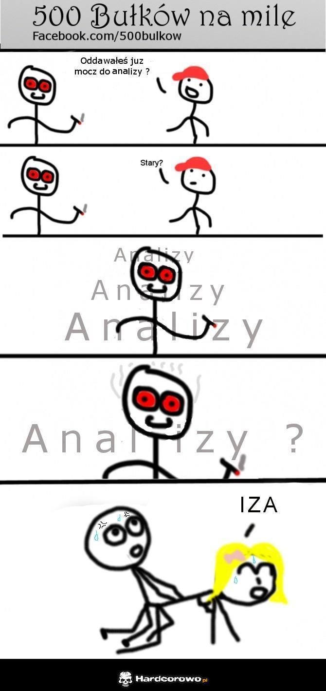 Mocz do analizy  - 1
