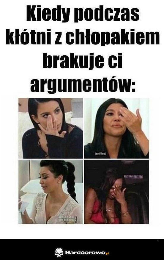 Kiedy podczas kłótni z chłopakiem brakuje Ci argumentów - 1