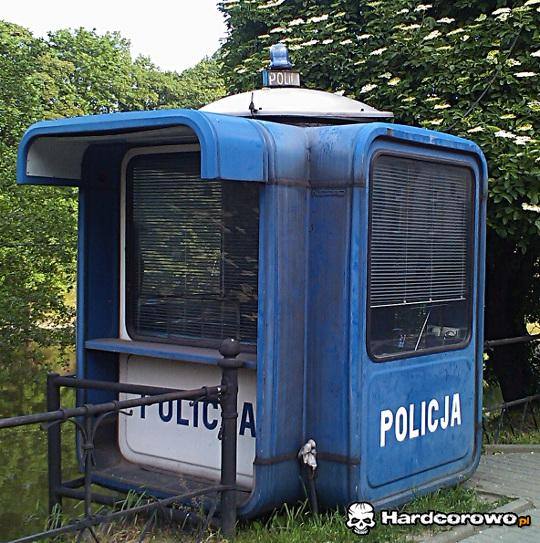 Stacjonarny radiowóz - 1