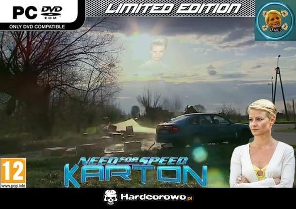 Need for Speed Karton - 1