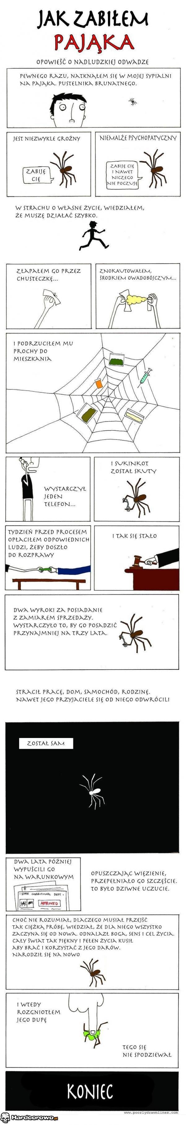 Jak zabiłem pająka - 1