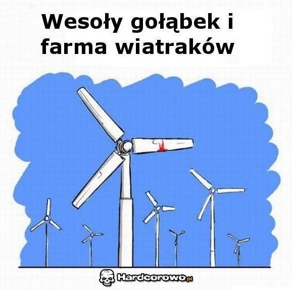 Wesoły gołąbek - 1