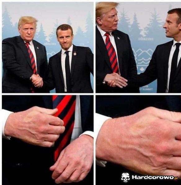 Uścisk dłoni - 1