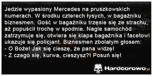 Wypasiony Mercedes  - 1