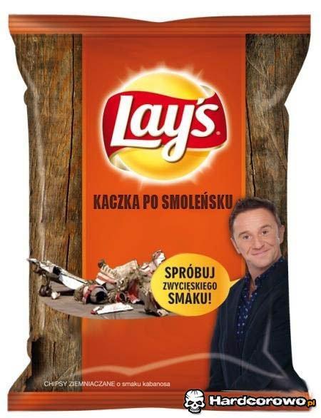 Lay's - Kaczka po smoleńsku - 1