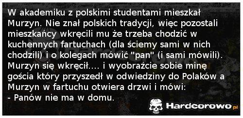 Murzyn w polskim akademiku - 1