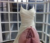 Hardcorowa suknia ślubna