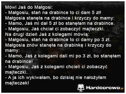 Mówi Jaś do Małgosi - 1