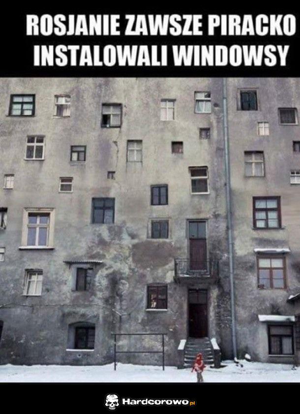 Windows w Rosji - 1