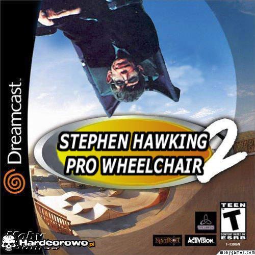 Stephen Hawking Pro Wheelchair 2 - 1