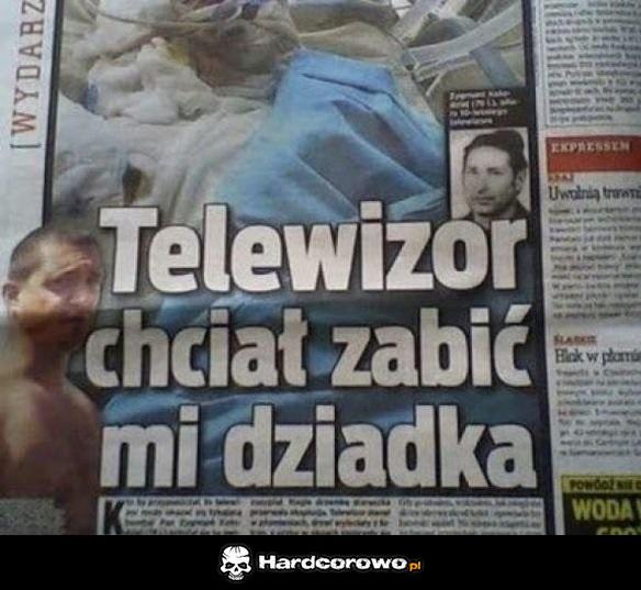 Groźny telewizor - 1