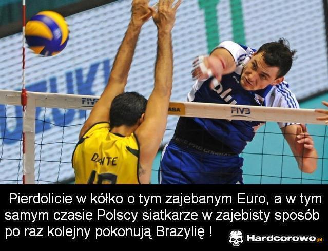 Euro i siatkówka - 1